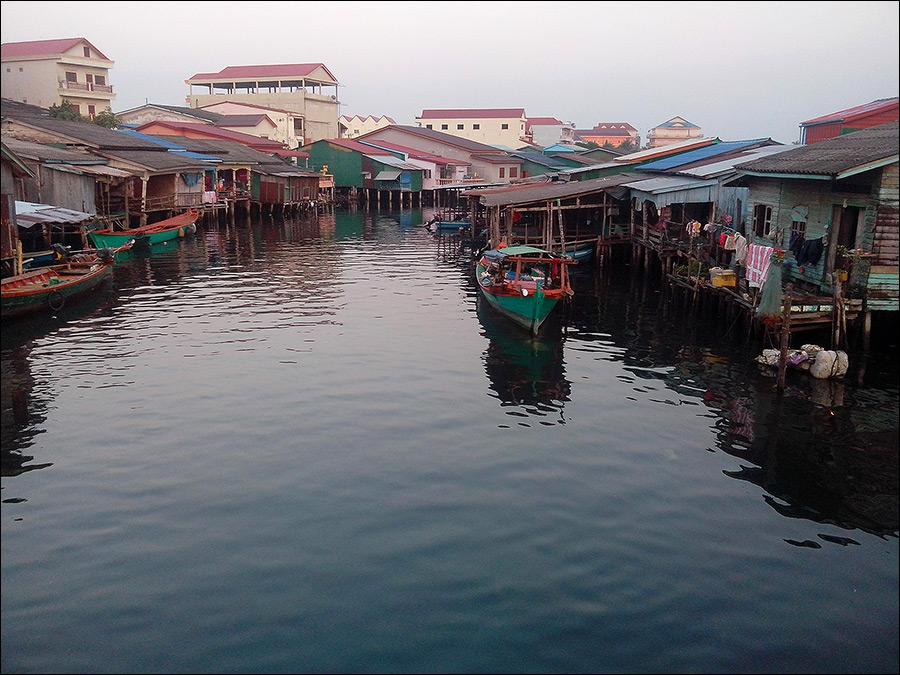 Водный поход по Камбодже
